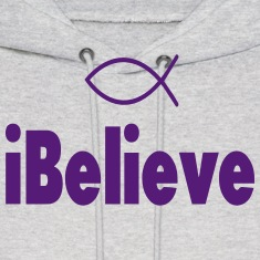 iBelieve-Christian Hoodies