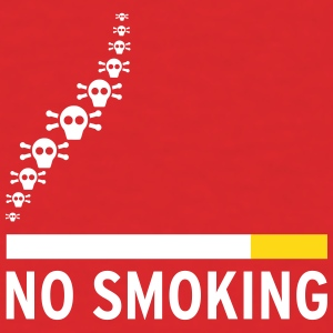 NO SMOKING - Men's T-Shirt