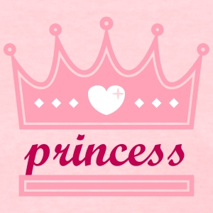 princess crown shape Women's T-Shirts - Women's T-Shirt