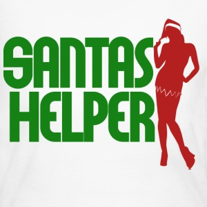 Santas Helper - Women's Long Sleeve Jersey T-Shirt