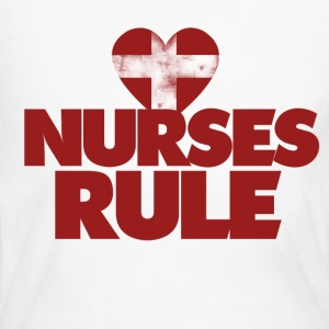Nurses Rule - Women's Long Sleeve Jersey T-Shirt