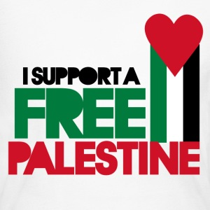 Freedom for Palestine - Women's Long Sleeve Jersey T-Shirt