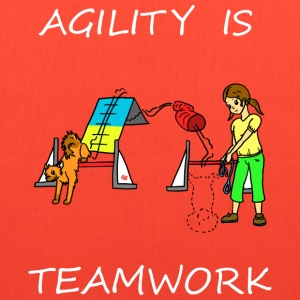 Agility Is - Teamwork! Bags & backpacks - Tote Bag