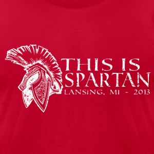 This is Spartan! T-Shirts - Men's T-Shirt by American Apparel