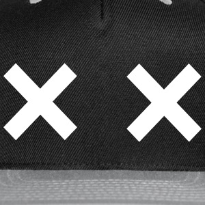 X Out Snapback Cap - Snap-back Baseball Cap