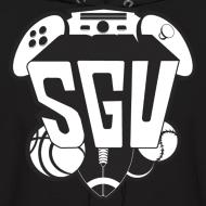 Design ~ SGU New Logo Hoodie B&W