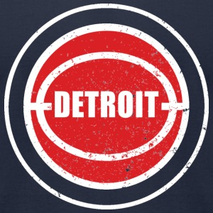 Detroit Vintage T-Shirts - Men's T-Shirt by American Apparel