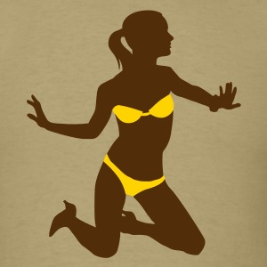 Bikini Girl No.01_2c T-Shirts - Men's T-Shirt