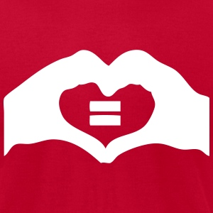 marriage equality T-Shirts - Men's T-Shirt by American Apparel