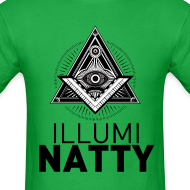 Design ~ ILLUMINATTY - Tee (black text)