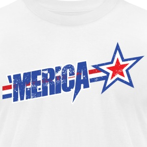 'MERICA T-Shirts - Men's T-Shirt by American Apparel