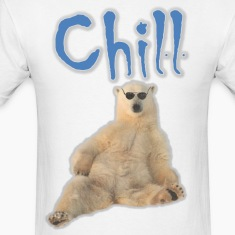 Chill Polar Bear T-Shirts