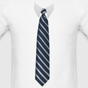 Neck Tie T-Shirts - Men's T-Shirt