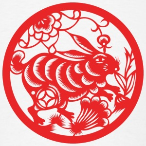 Chinese New Years - Zodiac - Year of the Rabbit T-Shirts - Men's T-Shirt