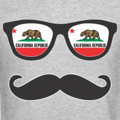 Mr Mustache California Long Sleeve Shirts