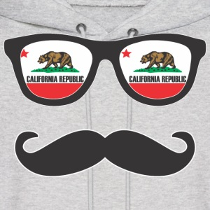 Mr Mustache California Hoodies - Men's Hoodie
