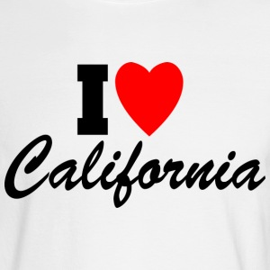 I Love California! Long Sleeve Shirts - Men's Long Sleeve T-Shirt