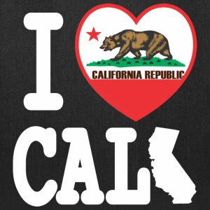 I Heart California MAP Bags & backpacks - Tote Bag