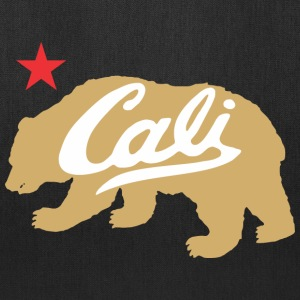 Gold Cali Bear Bags & backpacks - Tote Bag