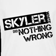 Design ~ Breaking Bad T-Shirts: Skyler White did Nothing Wrong