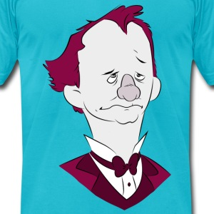 Sad Barnum (Digital Print) T-Shirts - Men's T-Shirt by American Apparel