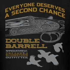 double_barrel_double_chance T-Shirts