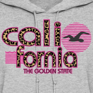 California Cheetah The Golden State Hoodies - Women's Hoodie