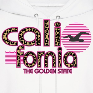 California Cheetah The Golden State Hoodies - Men's Hoodie