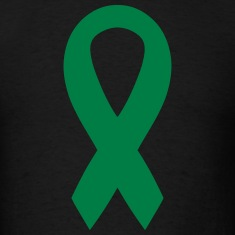 Green Awareness Ribbon T-Shirts