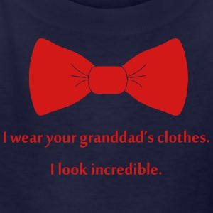 I wear your granddad's clothes Kids' Shirts - Kids' T-Shirt