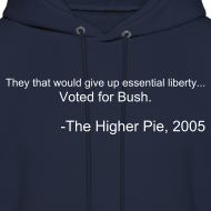 Design ~ Official Higher Pie Ben Franklin Hoodie (Editable!)