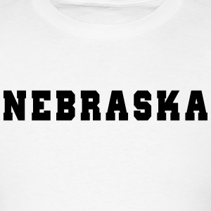 Nebraska College T-Shirts - Men's T-Shirt