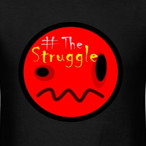 The Struggle logo red.png T-Shirts - Men's T-Shirt