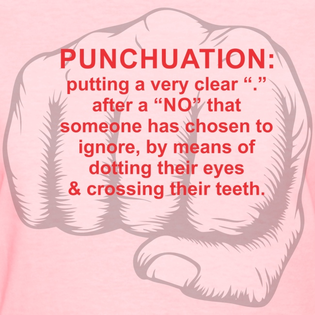 punchuation f