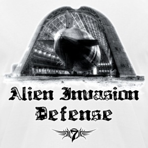 Alien Invasion Defender 5 T-Shirts - Men's T-Shirt by American Apparel