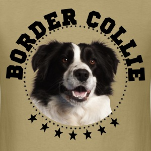 border collie - Men's T-Shirt