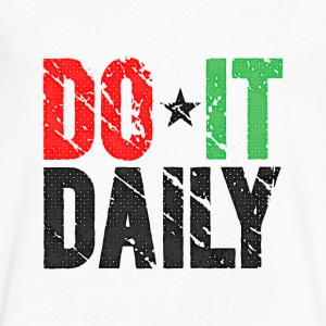Do It Daily | Vintage T-Shirts - Men's V-Neck T-Shirt by Canvas