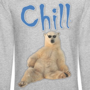 Chill Polar Bear - Crewneck Sweatshirt