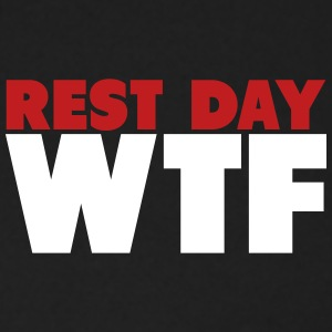 Rest Day WTF Zip Hoodies & Jackets - Men's Zip Hoodie