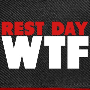 Rest Day WTF Caps - Snap-back Baseball Cap