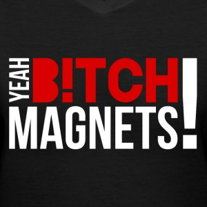 Breaking Bad: Yeah, Bitch! Magnets! Women's T-Shirts - Women's V-Neck T-Shirt