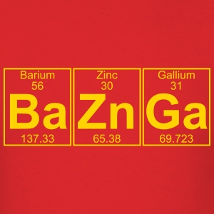 Ba-Zn-Ga (baznga) - Full T-Shirts - Men's T-Shirt