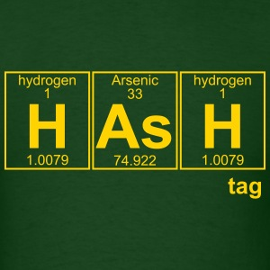 H-As-H (hash) - Full T-Shirts - Men's T-Shirt