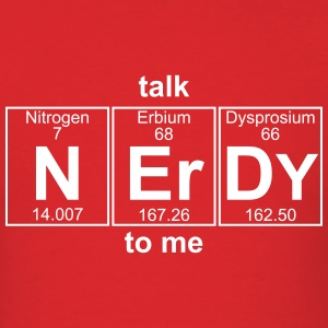 N-Er-Dy (nerdy) - Full T-Shirts - Men's T-Shirt