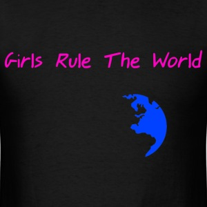 StichRulez Girls Rule The World - Men's T-Shirt