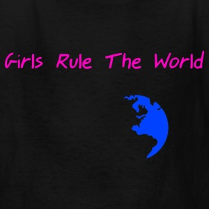 StichRulez Girls Rule The World - Kids' T-Shirt