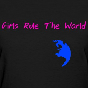 StichRulez Girls Rule The World - Women's T-Shirt