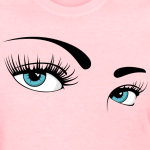 Girls Eyes (colored) No.01 Women's T-Shirts - Women's T-Shirt