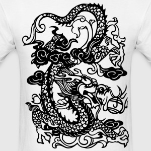Dragon - Asian - Tattoo - Fantasy T-Shirts - Men's T-Shirt