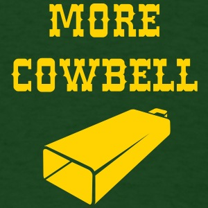 More Cowbell - Funny - Classic - Joke - Music T-Shirts - Men's T-Shirt